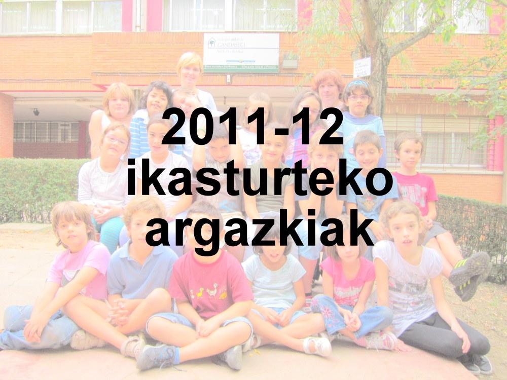 2011-12 Ikasturteko talde argazkiak (1/2)